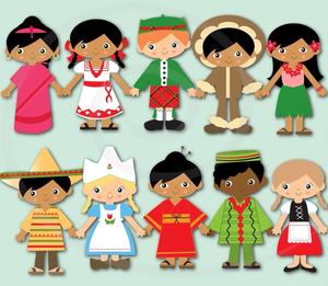 Free clipart of children around the world royalty free download Clipart Of Children Around The World | Free Images at Clker.com ... royalty free download