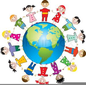 Free clipart of children around the world picture free library Children Around The World Clipart | Free Images at Clker.com ... picture free library