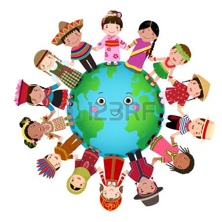 Free clipart of children learning around the world png royalty free download Children Around The World Clipart | Free download best Children ... png royalty free download