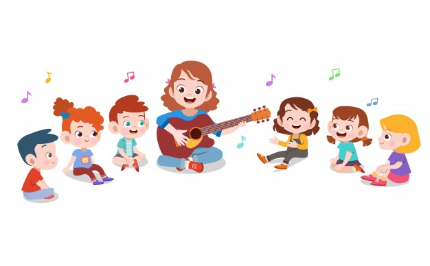 Kids working in different corner groups clipart vector freeuse Children Vectors, Photos and PSD files | Free Download vector freeuse