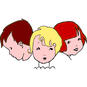 Free clipart of children s faces clipart black and white library Children\'\'s Faces clipart, cliparts of Children\'\'s Faces free ... clipart black and white library