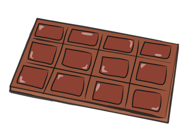 Free clipart of chocolate vector free library Chocolate clipart candy food free clipart images 4 - Clipartix vector free library