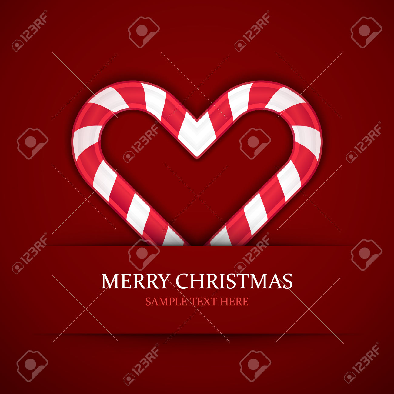 Free clipart of christmas candy hearts png black and white library Christmas Candy Heart Vector Background Christmas Card Or ... png black and white library