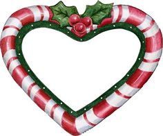 Free clipart of christmas candy hearts clipart library download Christmas heart clipart free - ClipartFest clipart library download