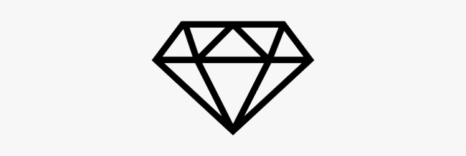 Free clipart of diamonds. Diamond outline small