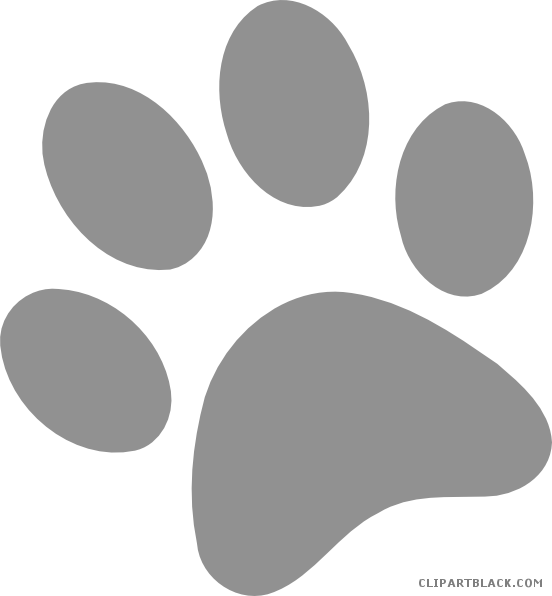 Free clipart of dog paw prints transparent library Dog Paw Prints Clipart - Page 3 of 3 - ClipartBlack.com transparent library