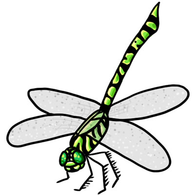 Free clipart of dragonflies graphic black and white library 25 FREE Dragonfly Clip Art Drawings and Colorful Images graphic black and white library