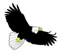 Free clipart of eagles soaring. Eagle clip art look