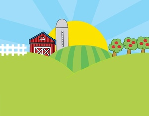 Free clipart of farmers in the fields. Farming field cliparts download