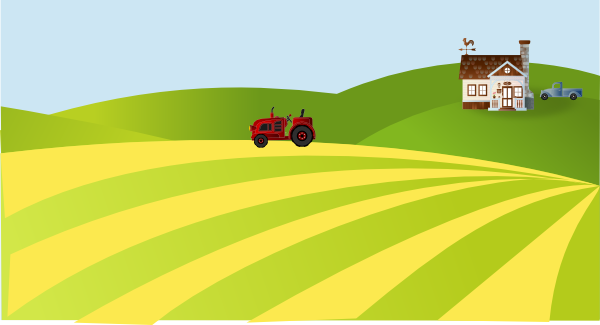 Farming field cliparts download. Free clipart of farmers in the fields