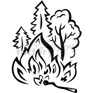 Free clipart of fire burning in forest clip art royalty free forest wild fire burning aces clipart. Royalty-free clipart # 386123 clip art royalty free