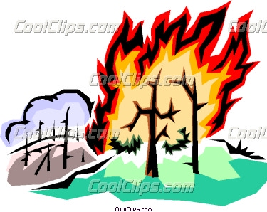 Free clipart of fire burning in forest clip royalty free stock Forest fire Vector Clip art | Clipart Panda - Free Clipart Images clip royalty free stock