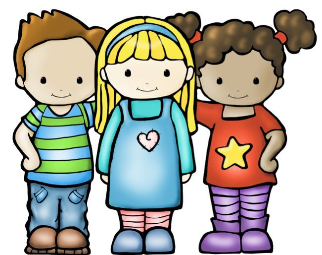 Boys friendship clipart banner free FREE best friends kids graphics! These kids are perfect for any ... banner free