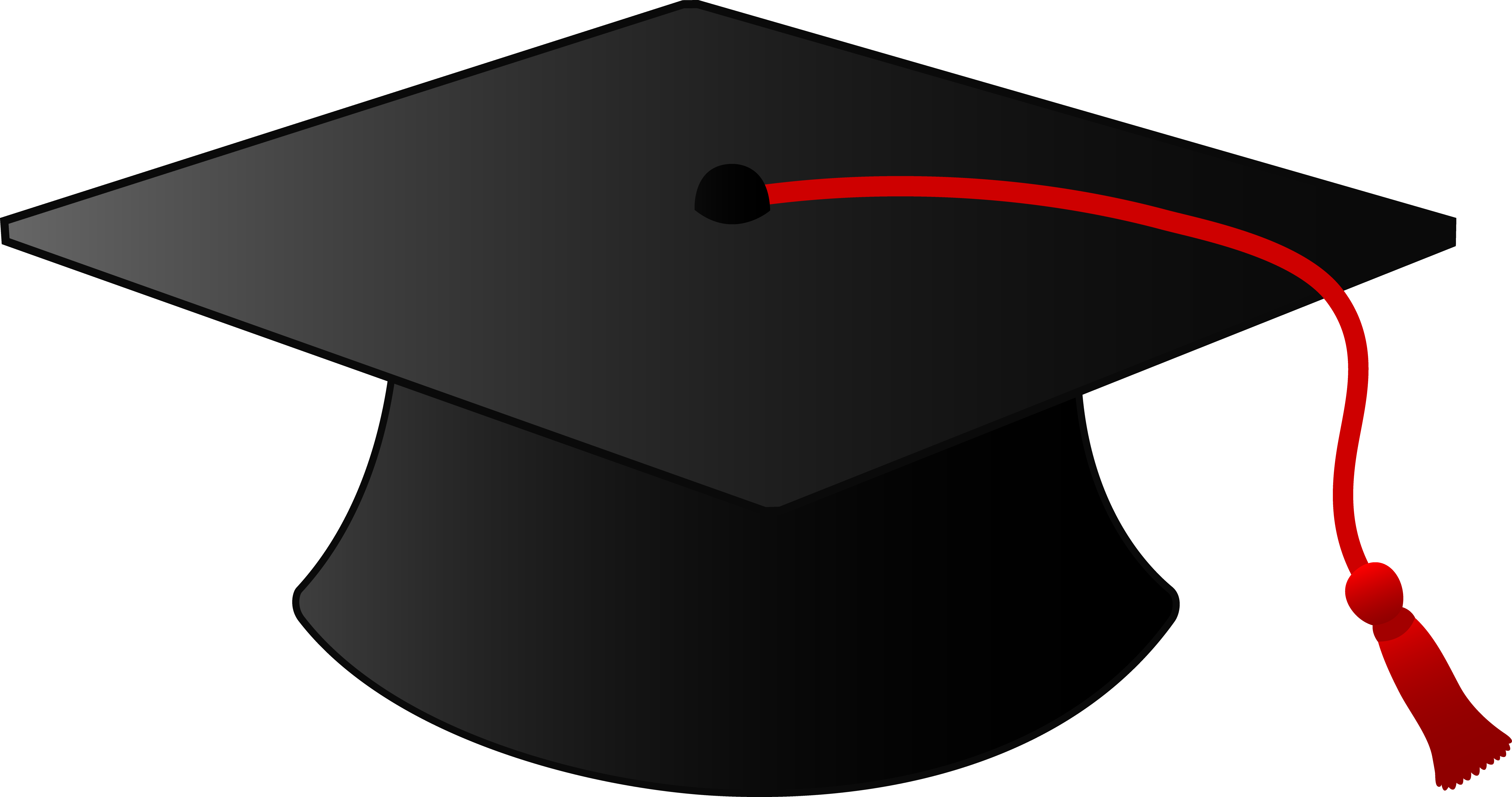 Free clipart of graduation caps. Cap hat education wikiclipart