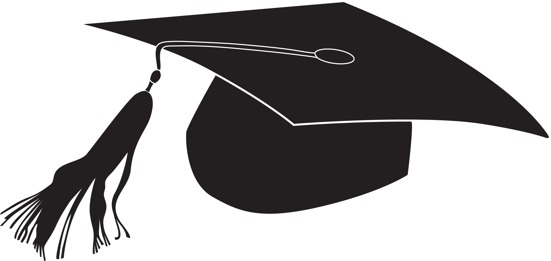 Cap borders clipartgo clipartix. Free clipart of graduation caps
