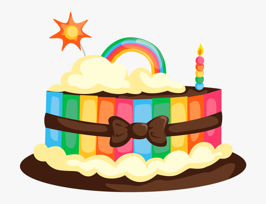 Free clipart of happy birthday cake and ice cream vector black and white Png Clip Art And Birthday Soloveika - Happy Birthday Cake Png Vector ... vector black and white