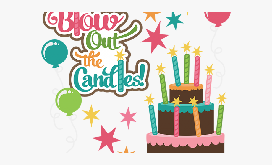 Free clipart of happy birthday with 4 candle. Candles th boy clip