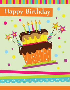 Free clipart of happy birthday with 4 candle picture free library Happy birthday cake clipart free vector download (8,783 Free vector ... picture free library