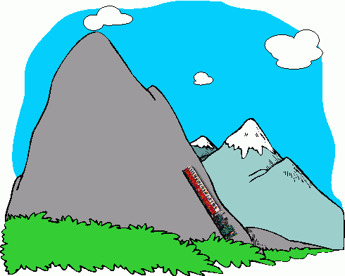 Free clipart of icy mountain and climber image library library Mountain clipart mountains id pictures 4 - ClipartBarn image library library