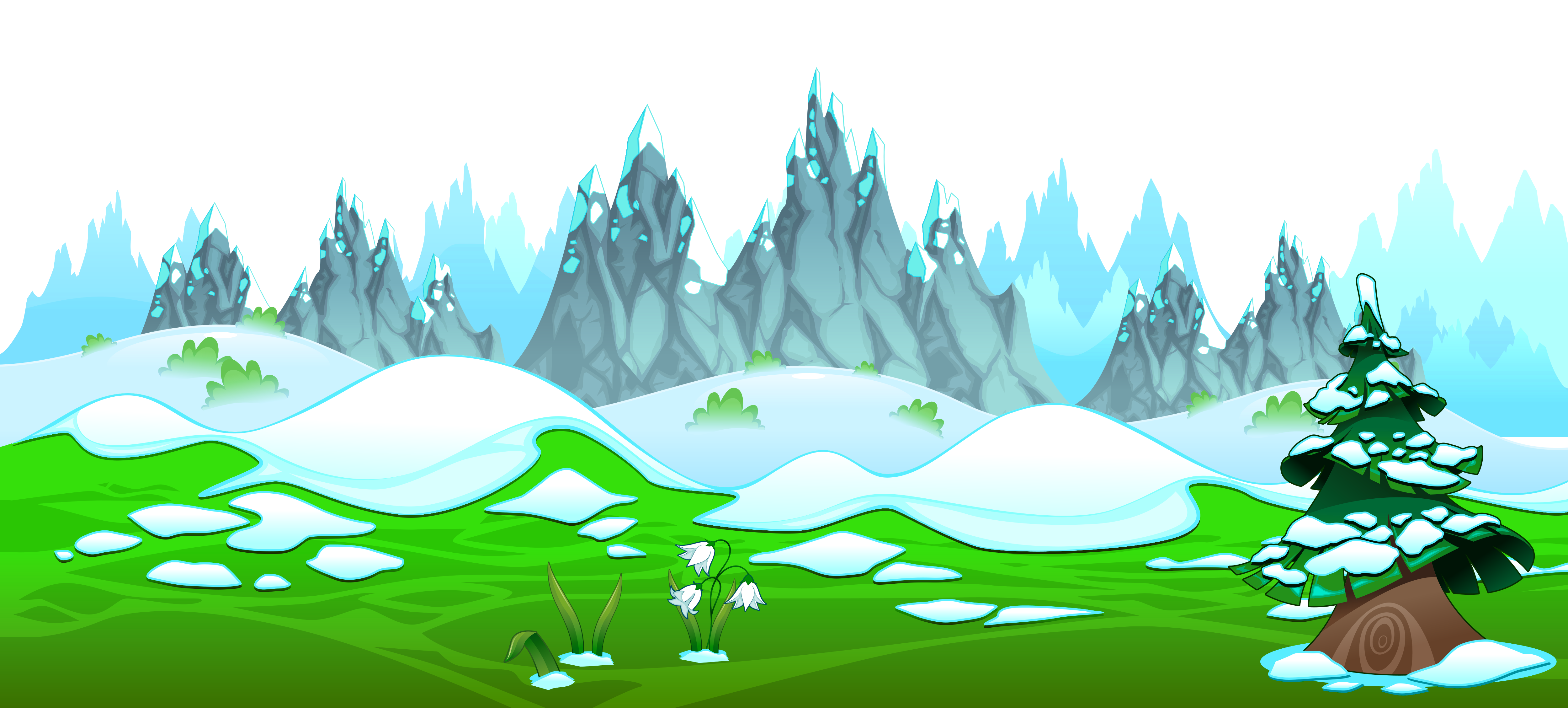 Free clipart of icy mountain and climber picture stock Early spring with icy mountains ground clipart - ClipartBarn picture stock