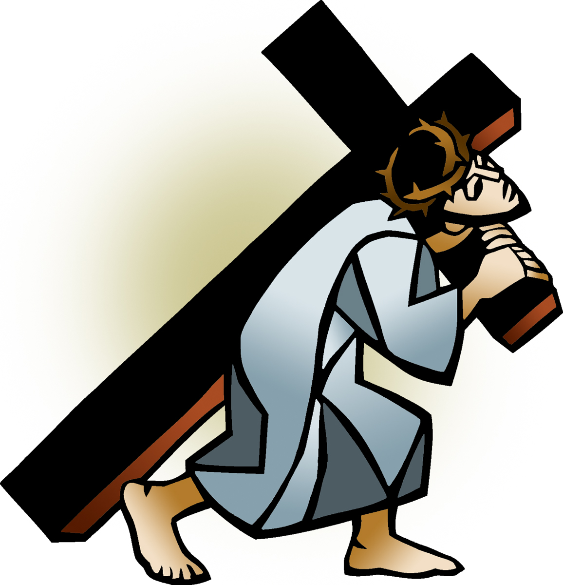 Free clipart of jesus carring a man jpg royalty free library Carrying Cliparts   Free download best Carrying Cliparts on ... jpg royalty free library