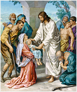 Free clipart of jesus healing the sick png free library Jesus Healing The Sick Clipart | Free Images at Clker.com - vector ... png free library