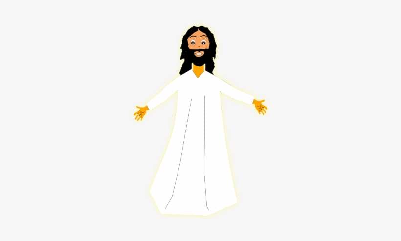 Free clipart of jesus resurrection graphic black and white stock Free Resurrection Of Jesus Clip Art - Jesus Resurrection Clip Art ... graphic black and white stock