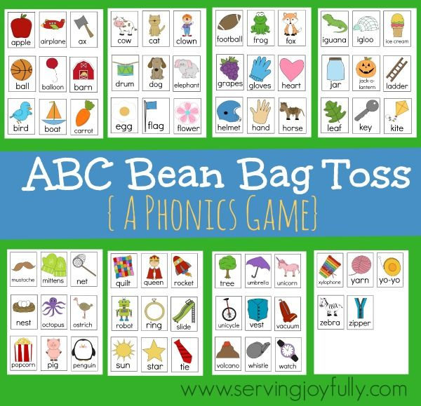 Free clipart of kids passing a bean bag banner library ABC Bean Bag Toss (Free Printable Game) | Free Printables | Bean bag ... banner library