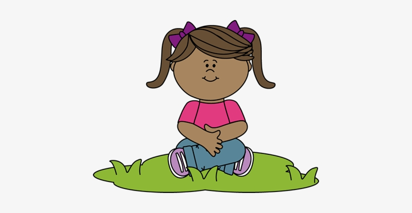 Free clipart of kids sitting criss cross jpg transparent Kid Sitting In Grass Clip Art - Sitting Criss Cross Clipart ... jpg transparent