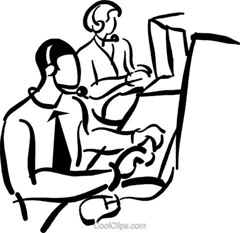 Technical support operators royalty. Free clipart of legs supporting something