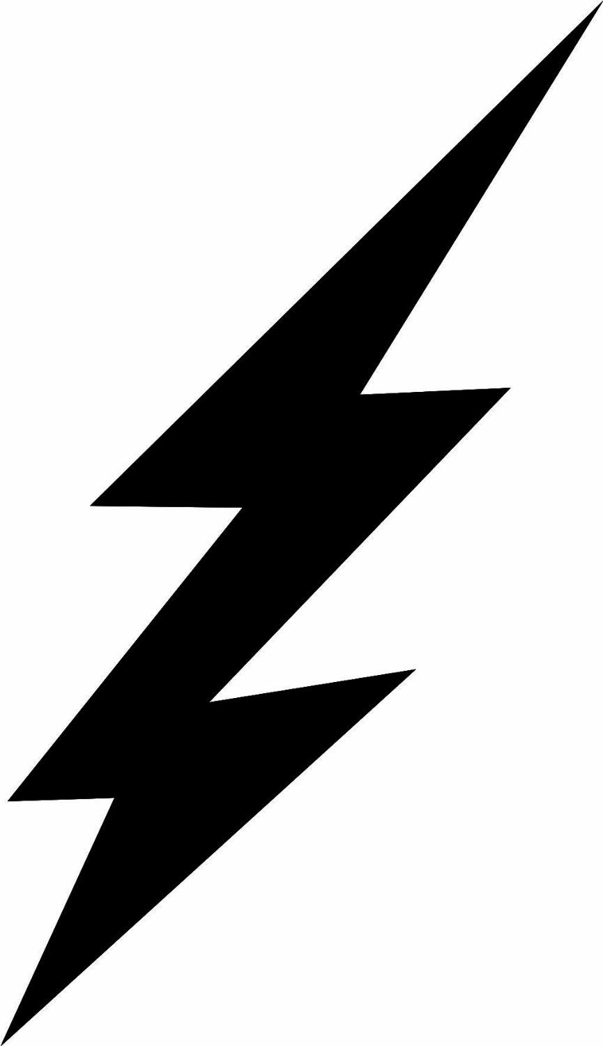 Free clipart of lightning bolts vector black and white stock Free Lightning Bolt, Download Free Clip Art, Free Clip Art on ... vector black and white stock