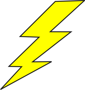 Free clipart of lightning bolts vector download Lightning Bolt Clip Art at Clker.com - vector clip art online ... vector download