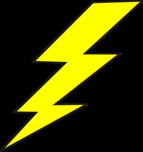 Bolt clip art at. Free clipart of lightning bolts