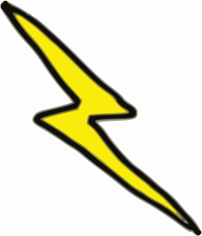 Free clipart of lightning bolts freeuse library Free Clipart: Cheap Lightning Bolt | lnxwalt freeuse library