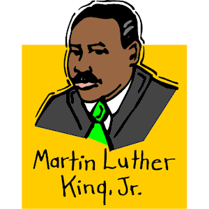 Free clipart of martin luther king jr banner transparent stock Martin luther King Jr clipart, cliparts of Martin luther King Jr ... banner transparent stock
