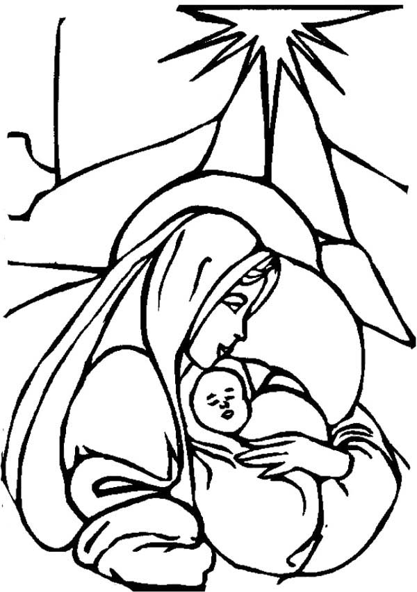 Free clipart of mary and baby jesus graphic library stock Free Baby Jesus Images Free, Download Free Clip Art, Free Clip Art ... graphic library stock