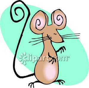 Free clipart of mice in mouse nest graphic library stock Cute Mouse With A Long Tail - Royalty Free Clipart Picture graphic library stock