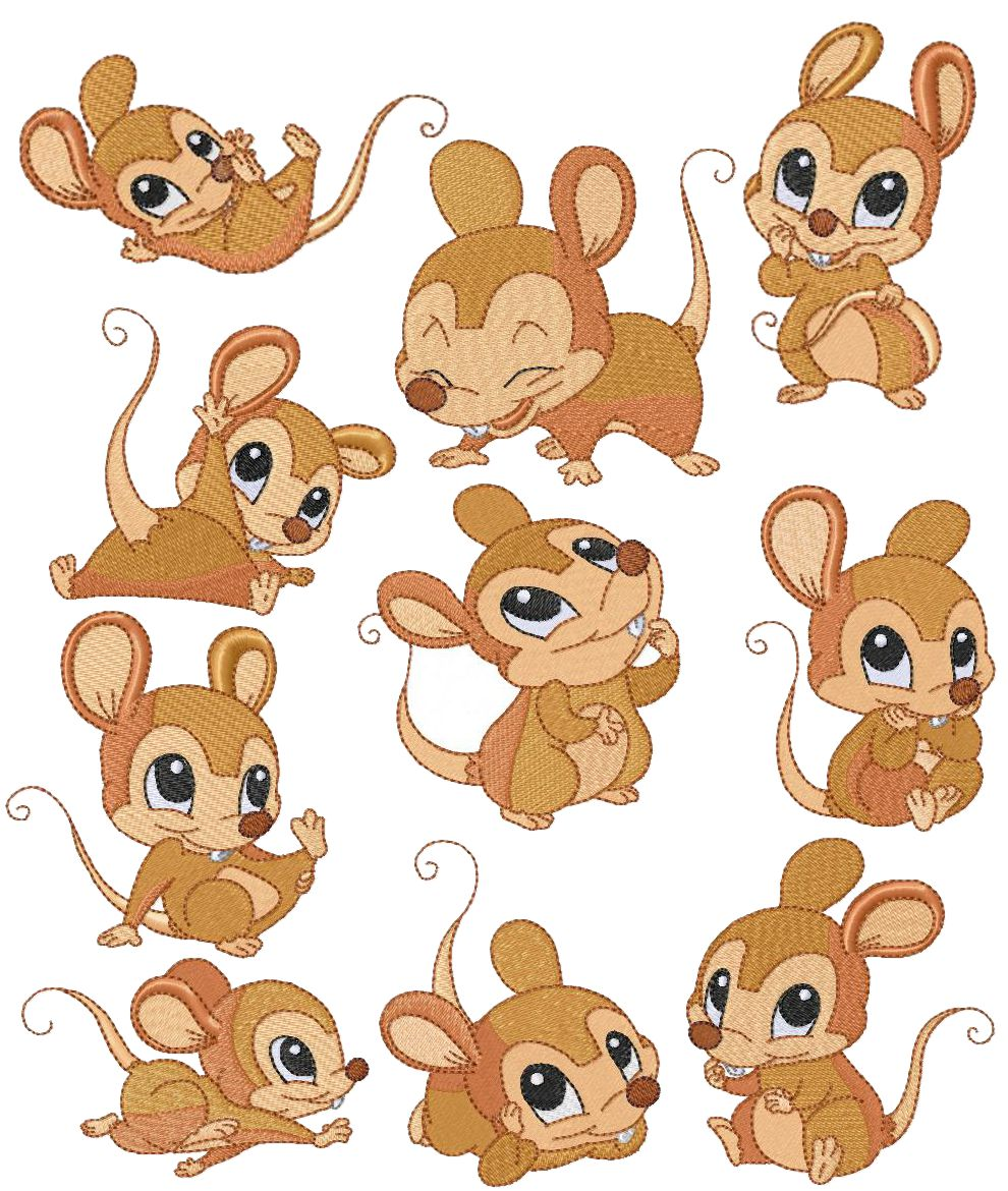 Free clipart of mice in mouse nest picture free Baby Mouse Clipart - Free Clipart picture free