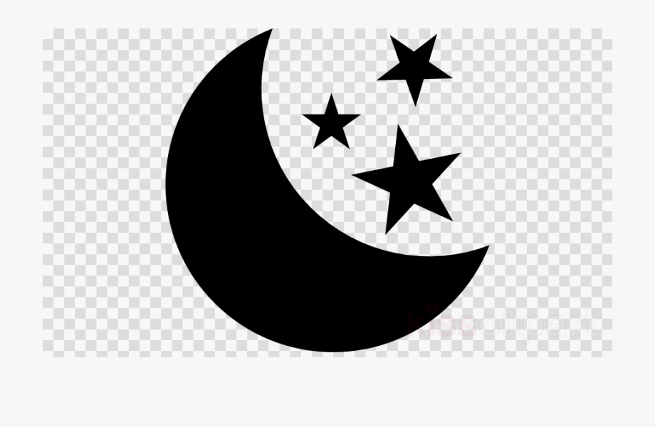 Free clipart of moon and stars svg free stock Crescent Moon Clipart Star - Logo Instagram Facebook Whatsapp ... svg free stock
