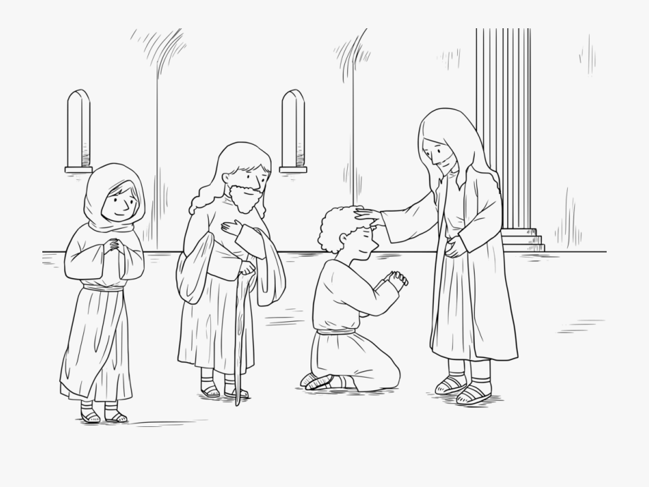 Free clipart of moses face to face with god vector freeuse library Miracles Of Jesus Bible Prophet Coloring Book God - Line Art #546357 ... vector freeuse library