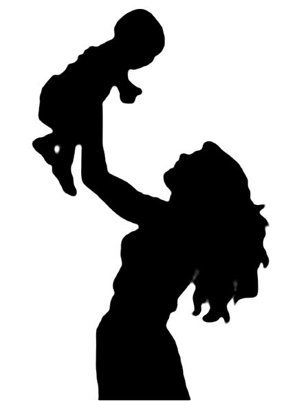 Holding baby panda images. Free black and white clipart mother and child