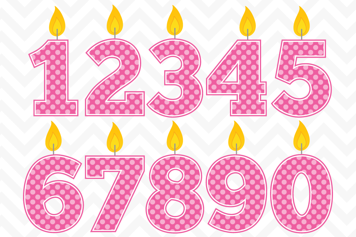 Download best . Free clipart of number 3 birthday candles