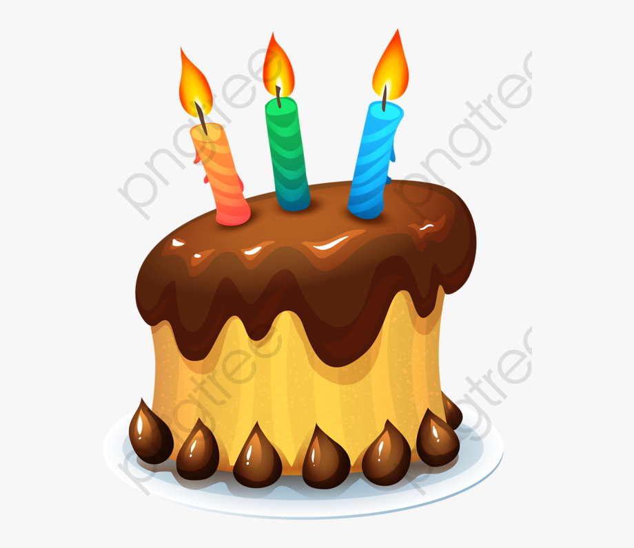 Free clipart of number 3 birthday candles. Cake candle happy wish