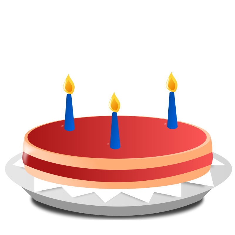 Free clipart of number 3 birthday candles. Candle cake dakhath