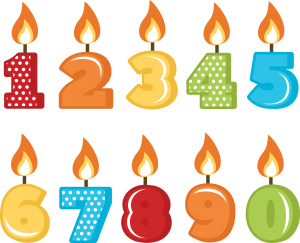 Free clipart of number 38 birthday candles svg download Birthday Candles SVG cut files for scrapbooking birthday svg files ... svg download