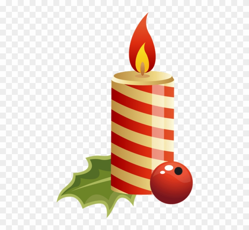 Free clipart of number 38 birthday candles clipart black and white library Free Png Red Christmas Candle Png - Christmas Candle Clipart ... clipart black and white library