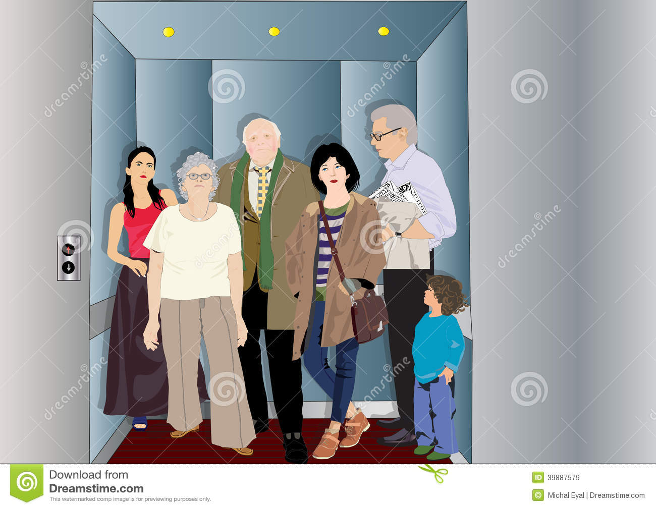 Free clipart of people in elevator image black and white stock Elevator clipart overcrowded - 34 transparent clip arts, images and ... image black and white stock