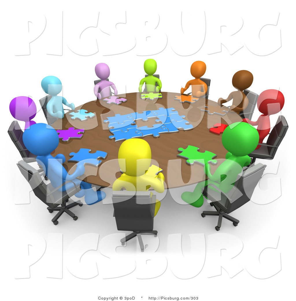 Portal . Free clipart of people meeting
