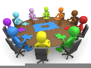 Roundtable images at clker. Free clipart of people meeting