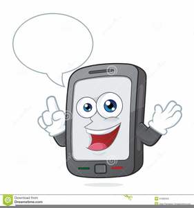 Free clipart of person looking at phone and smiling clipart freeuse Person On Cell Phone Clipart | Free Images at Clker.com - vector ... clipart freeuse